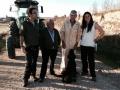 José Luis Sandoval y José Luis Álvarez con los directores.