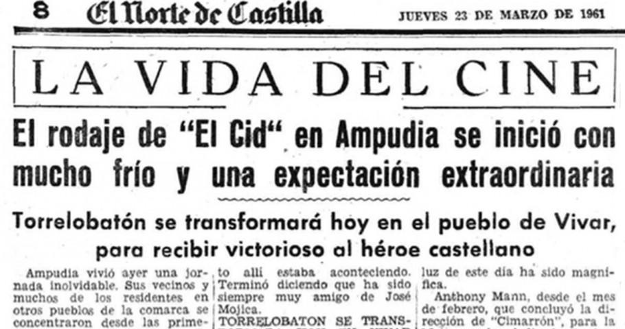 Se cumple el 60º aniversario del rodaje de «El Cid» en Torrelobatón.