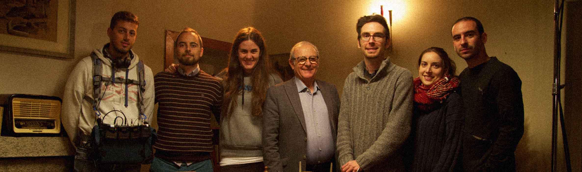 El equipo con Emilio Gutiérrez Caba