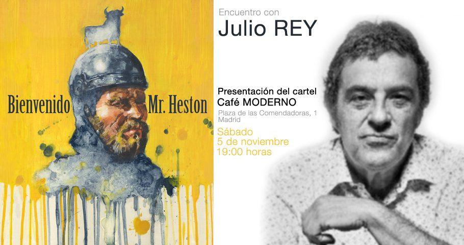 El dibujante Julio Rey presenta su particular visión de El Cid Campeador más español