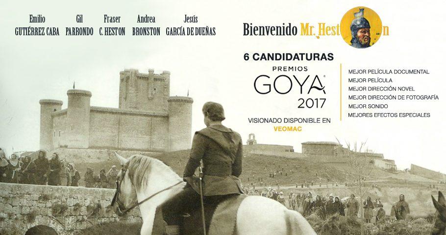 «Bienvenido Mr. Heston» aspira a los premios Goya con seis candidaturas