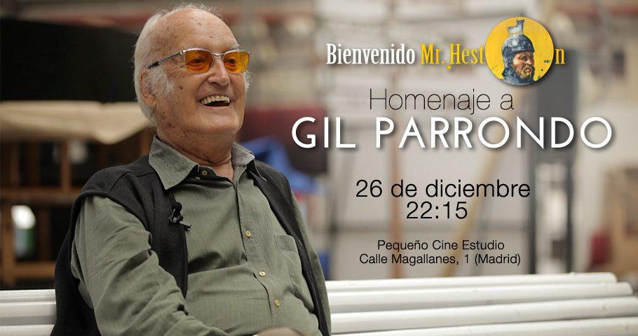 Homenaje a Gil Parrondo, lunes 26 de diciembre