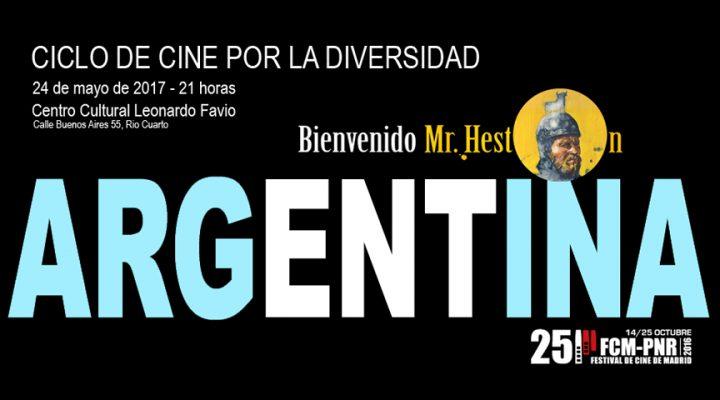 """Bienvenido Mr. Heston"" viaja a Argentina"