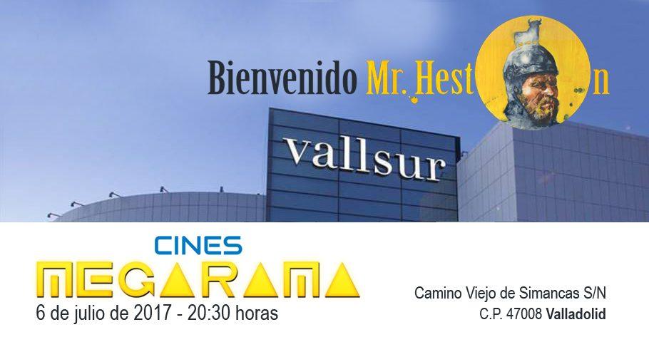 «Bienvenido Mr. Heston» llega a los Cines Megarama de Valladolid