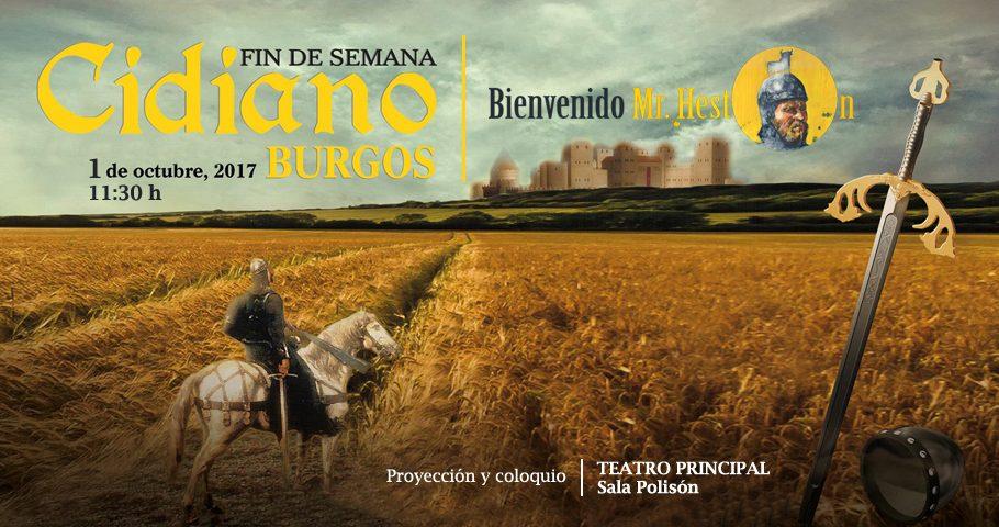 El Cid llega a Burgos de la mano de «Bienvenido Mr. Heston»
