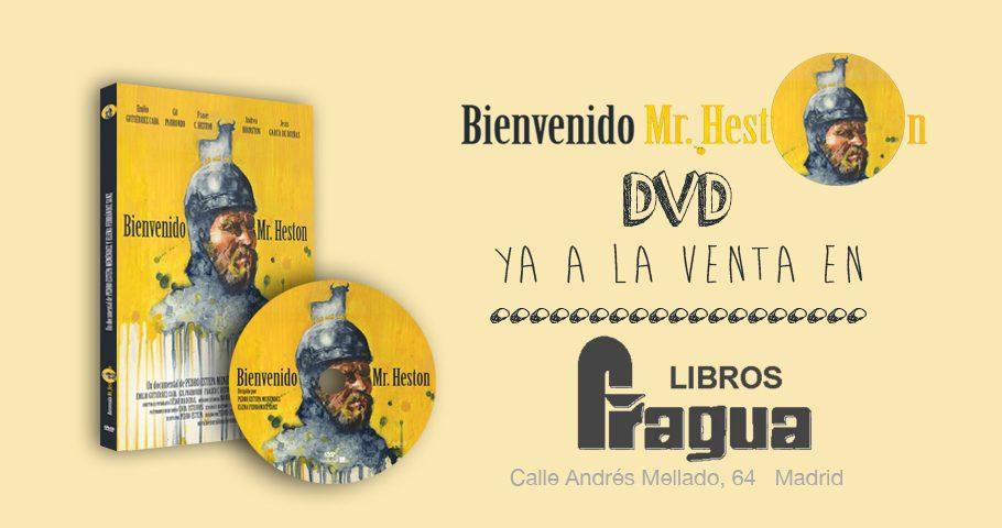 ¡A la venta los DVD de «Bienvenido Mr. Heston» en la Librería Fragua!