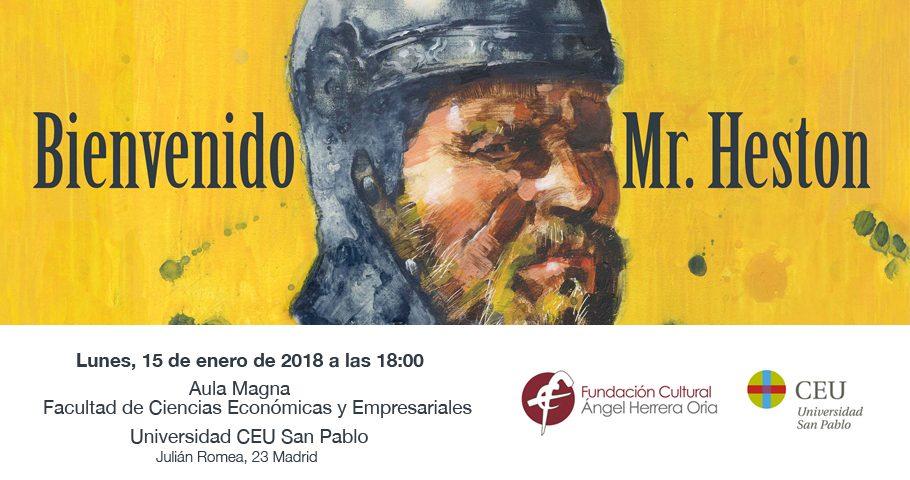 Próxima proyección de «Bienvenido Mr. Heston»: Universidad CEU San Pablo