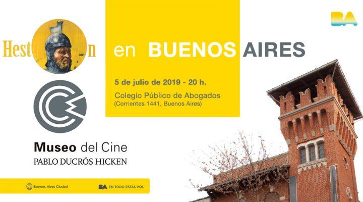 El Museo del Cine de Buenos Aires proyectará «Bienvenido Mr. Heston»