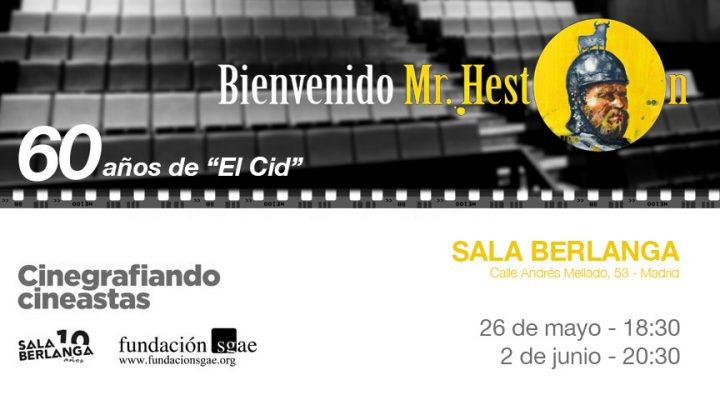 """«Bienvenido Mr. Heston» celebra los 60 años de """"El Cid"""" en la Sala Berlanga"""